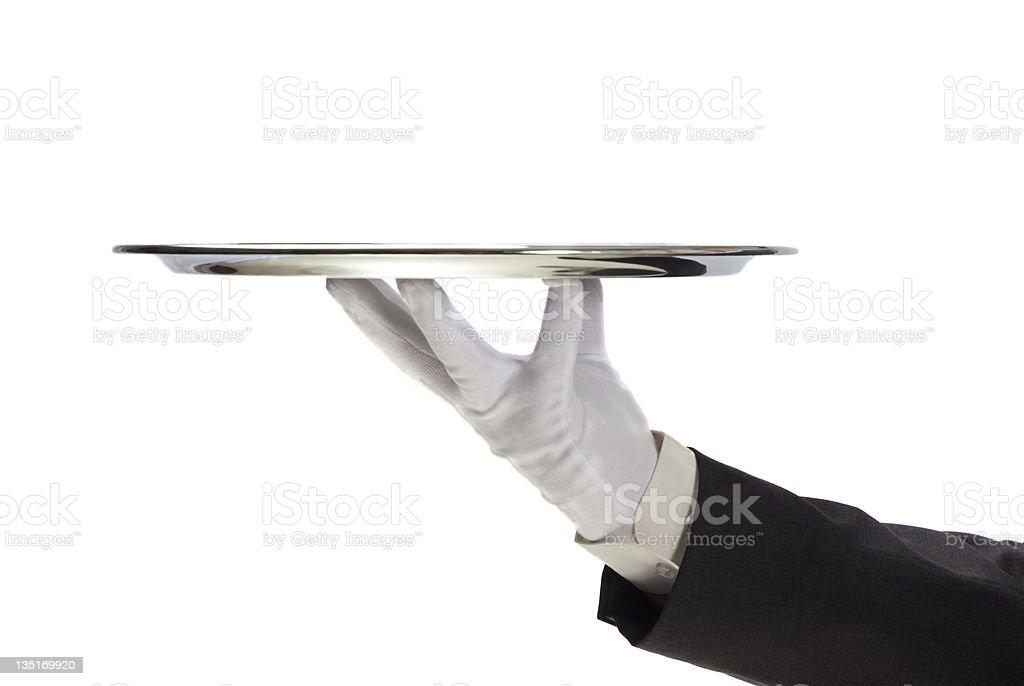 Serving stock photo