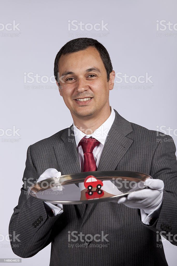 Serving the best car service royalty-free stock photo