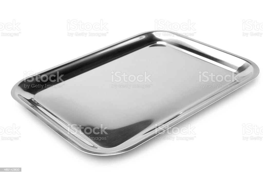 Serving tray stock photo