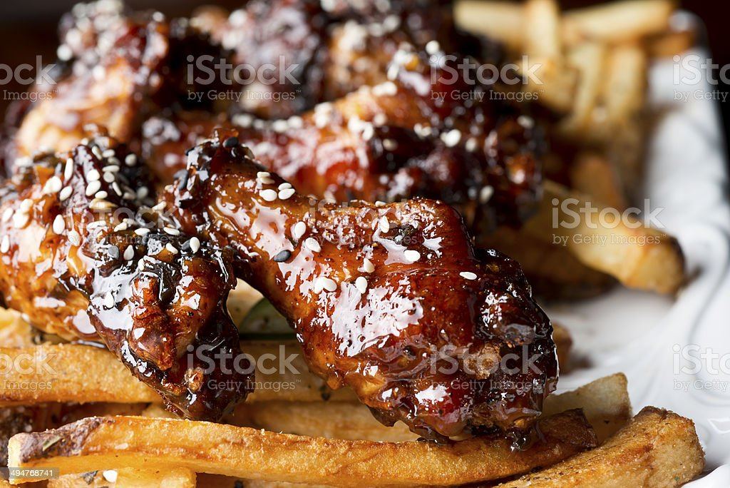 Sesame Chicken stock photo