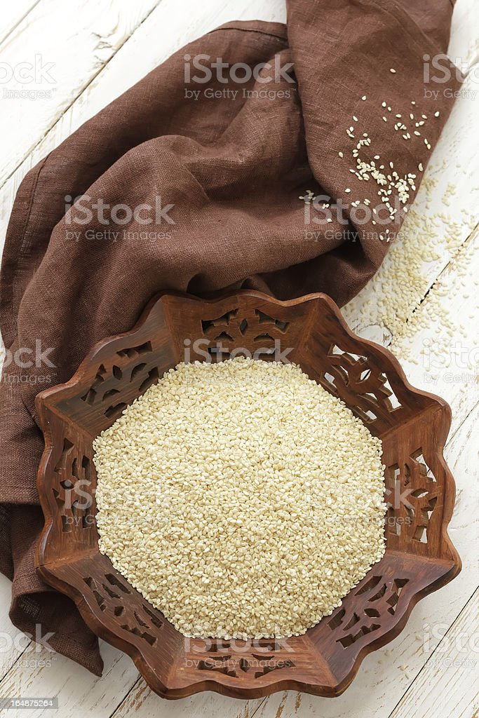 Sesame royalty-free stock photo