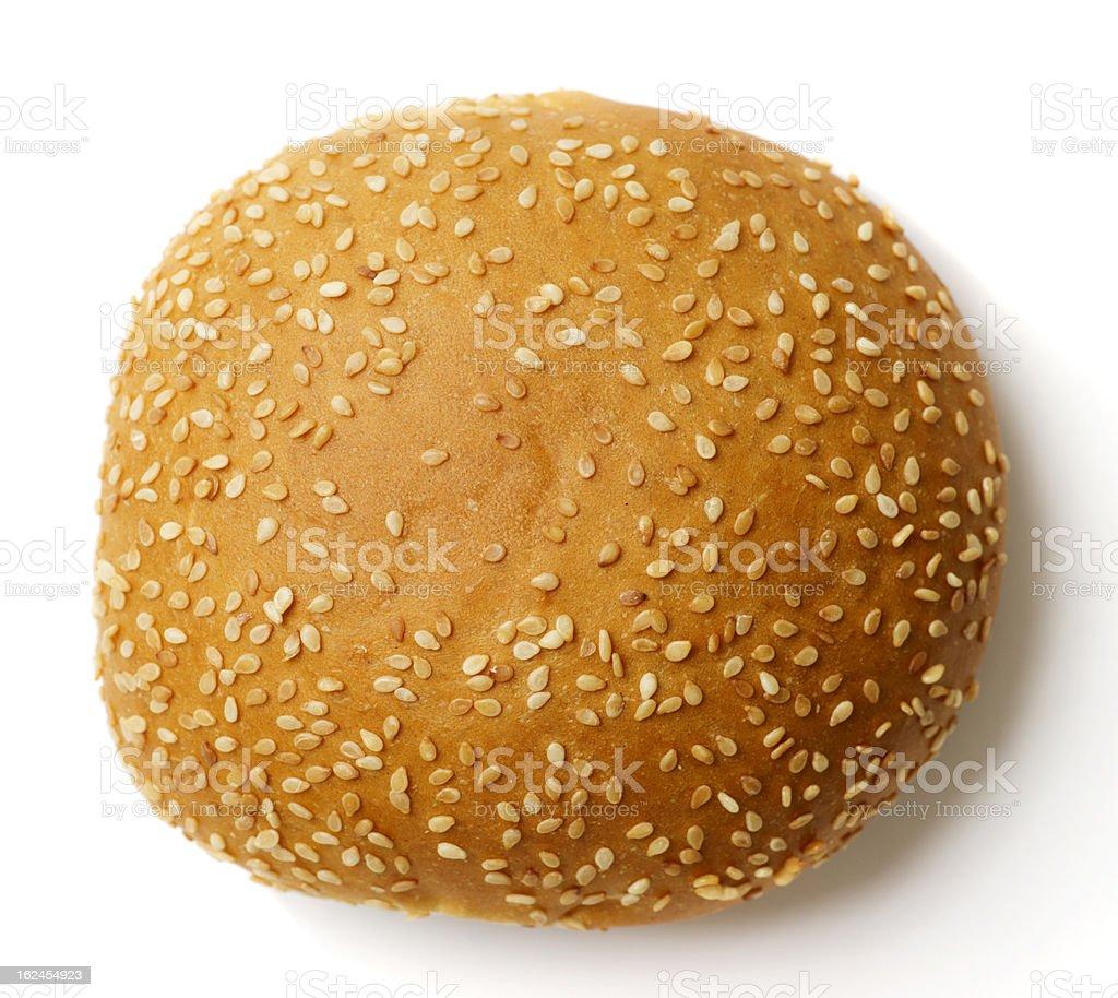 Sesame Seed Bun stock photo