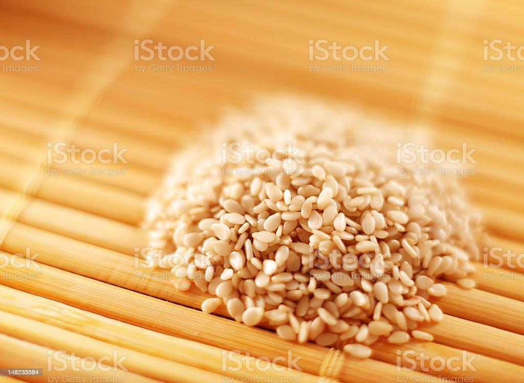 Sesame seed royalty-free stock photo