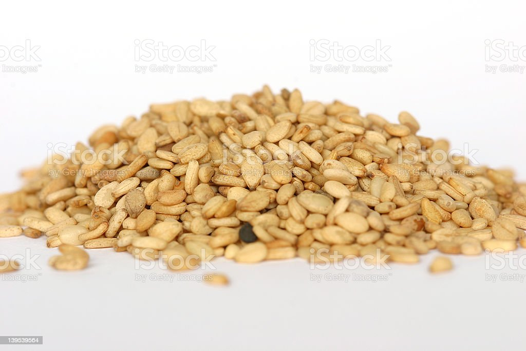 Sesame seeds royalty-free stock photo