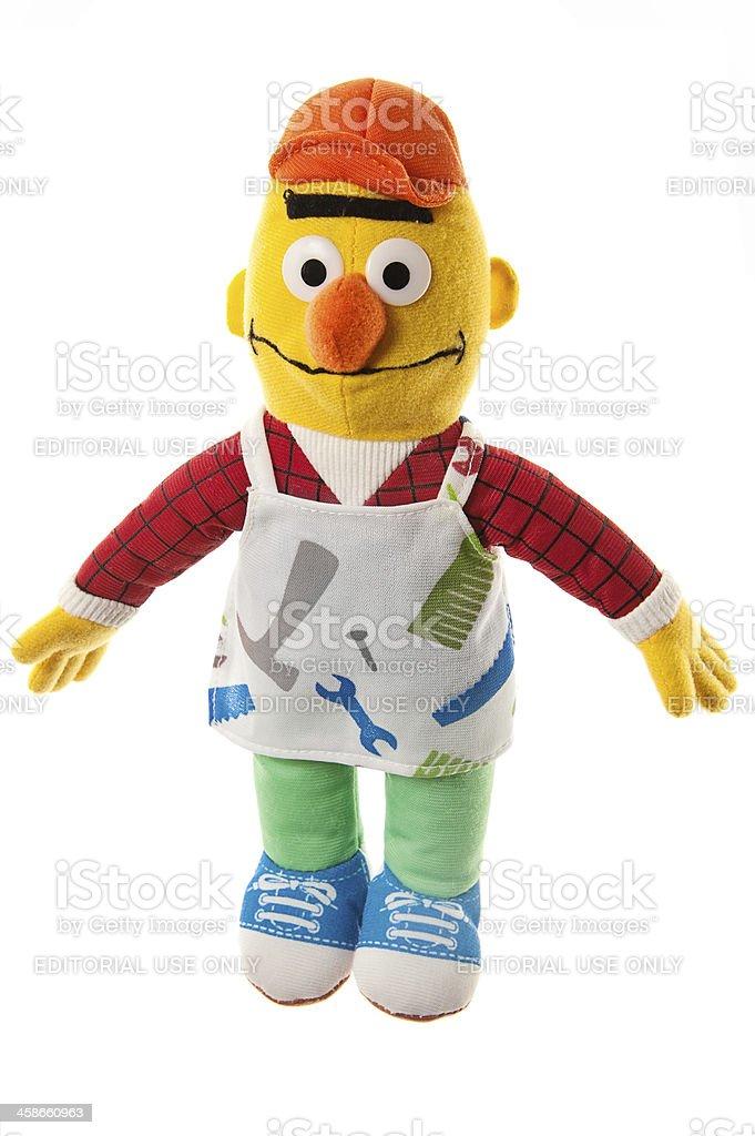 Sesame Street Character Bert stock photo