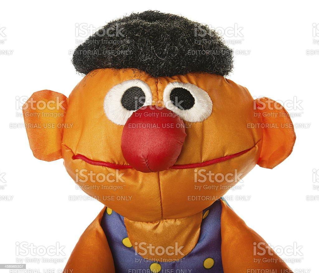 Sesame Street Character Ernie stock photo