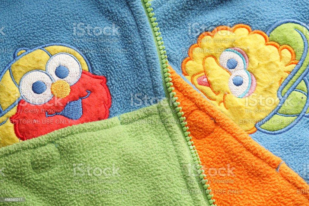 Sesame Street Coat stock photo