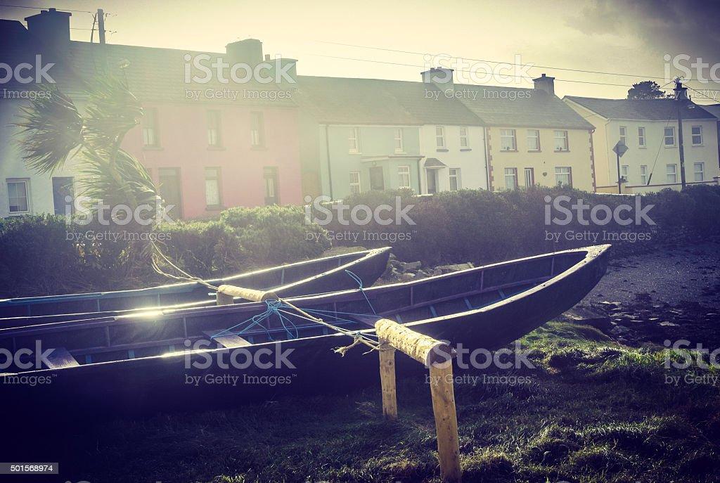 Seside Village stock photo