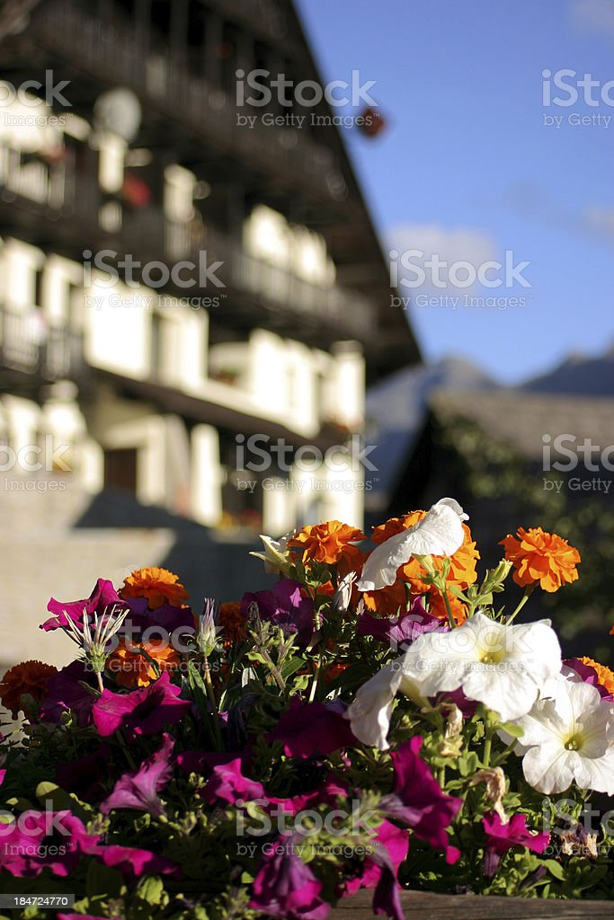 sestriere royalty-free stock photo