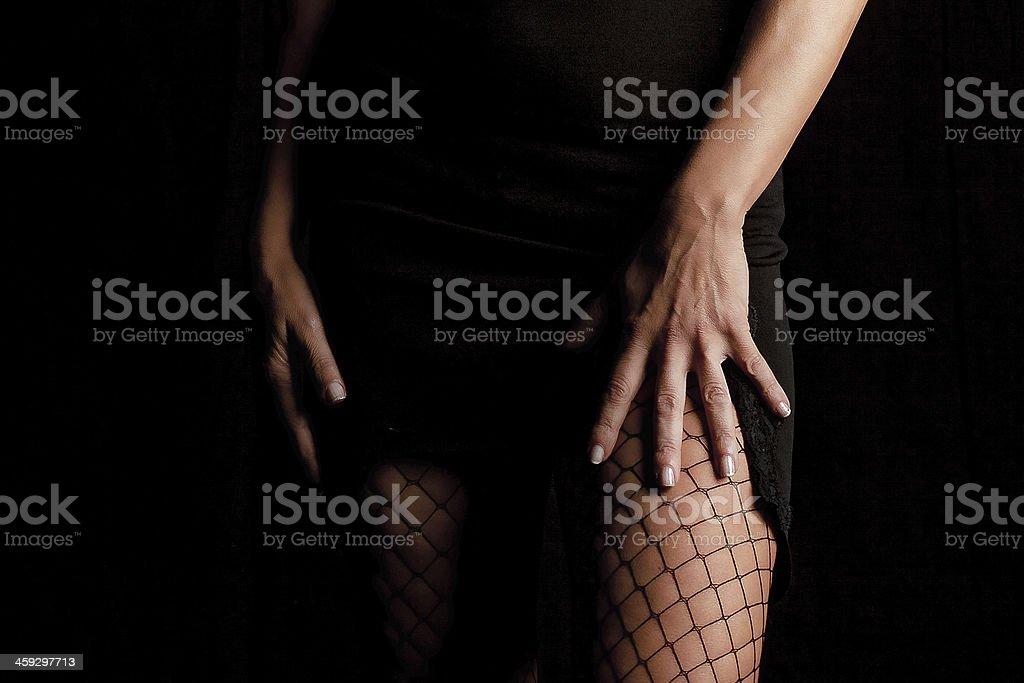 Sesualità femminile stock photo