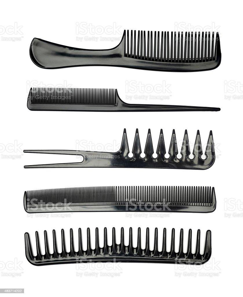 Set combs stock photo