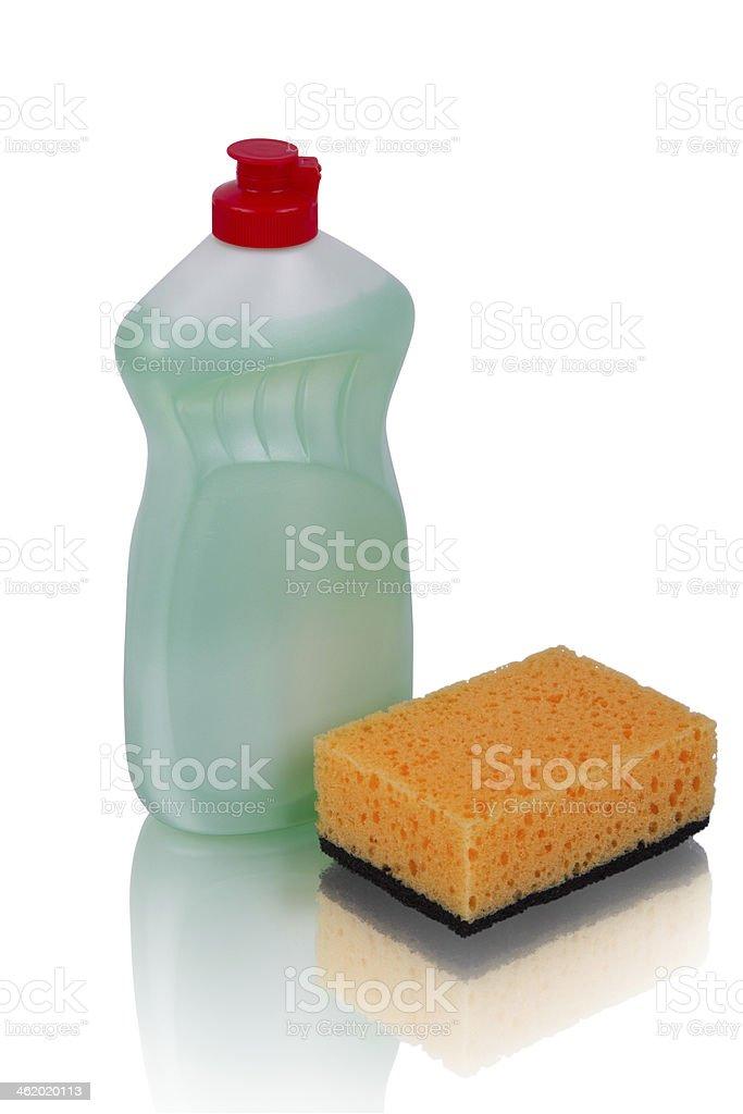 Set detergents royalty-free stock photo