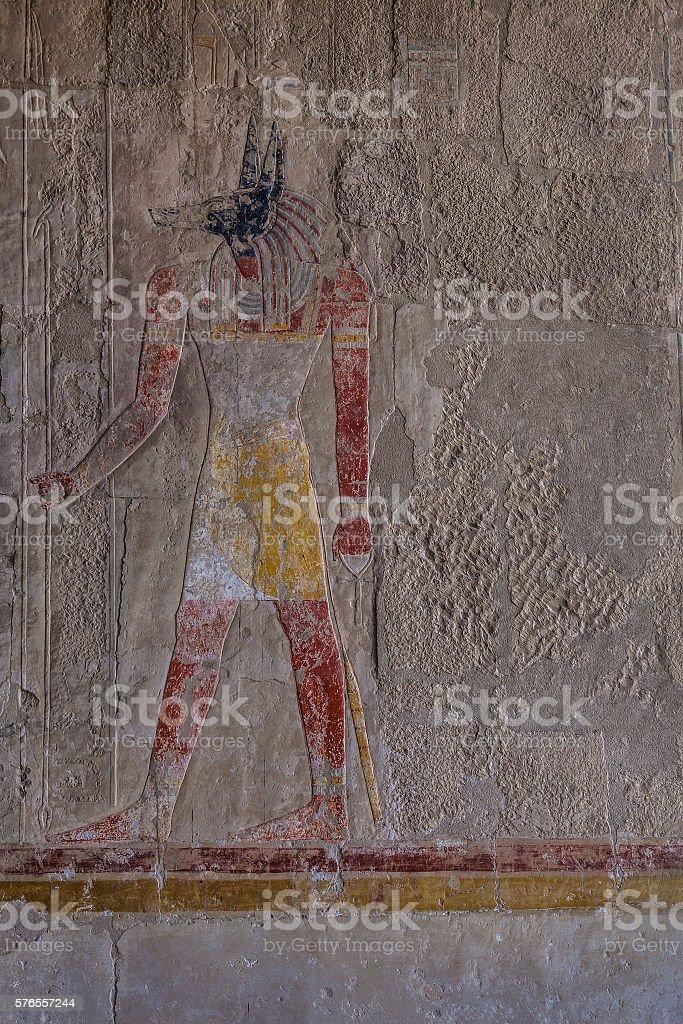 Set Egypt god stock photo
