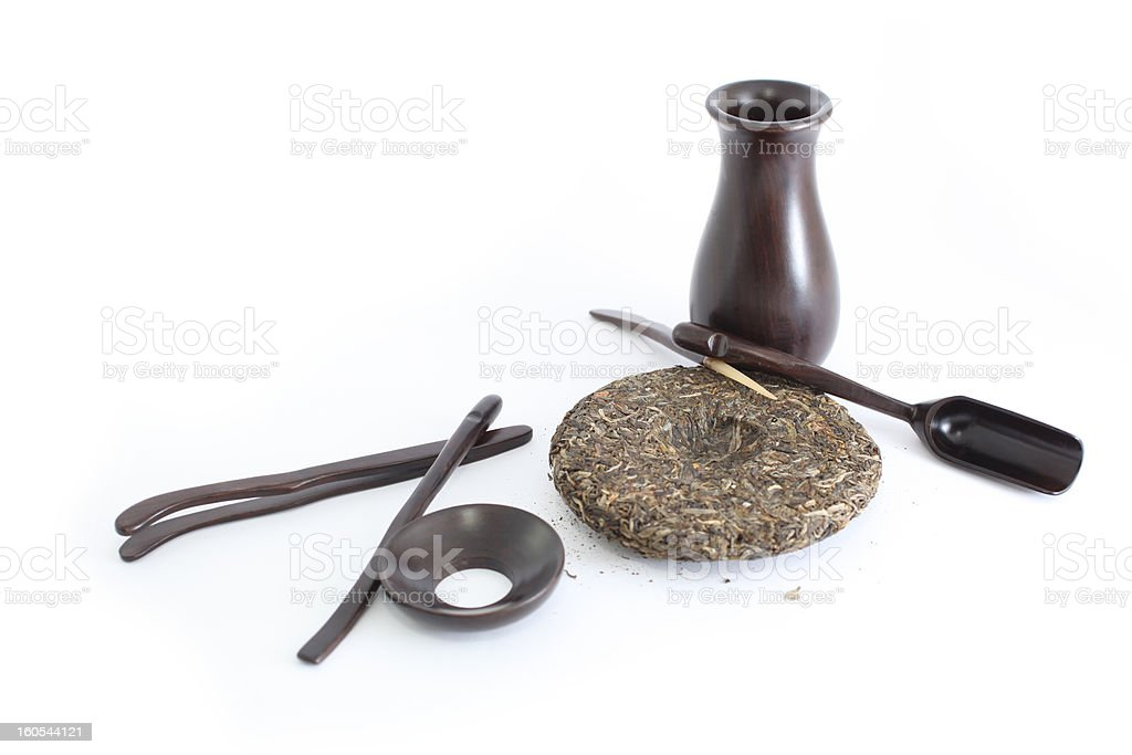 Set for Chinese Tea royalty-free stock photo