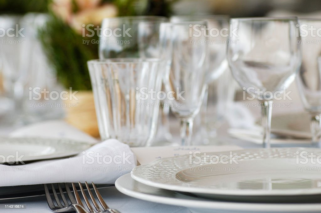 Set for Lunch royalty-free stock photo
