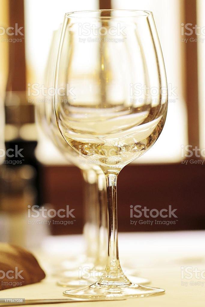 set in restaurant royalty-free stock photo