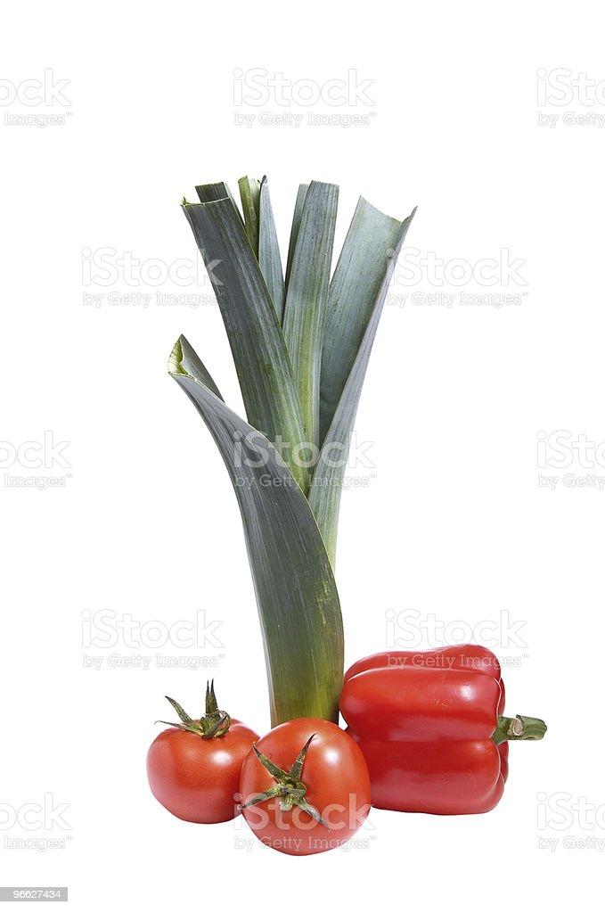 Set of autumn vegetables . stock photo