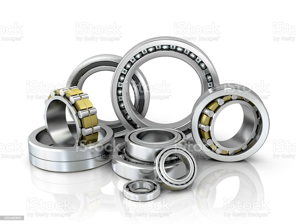 set of bearings stock photo