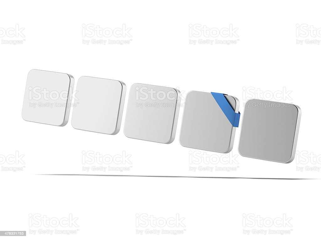 set of blank icons royalty-free stock photo