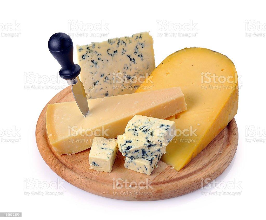 set of cheese stock photo