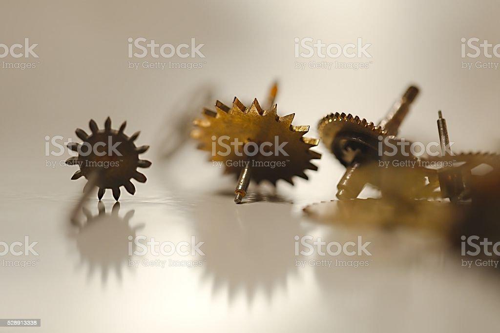 Set of Cogwheels stock photo