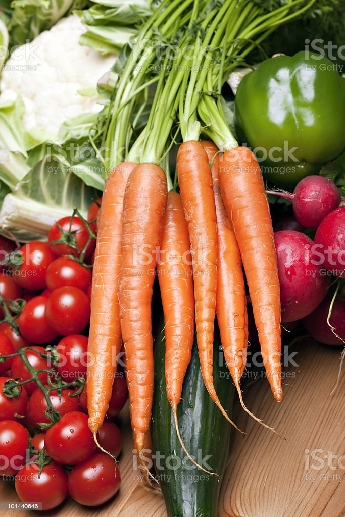 Set of different vegetables royalty-free stock photo