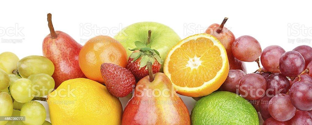 set of fruits royalty-free stock photo