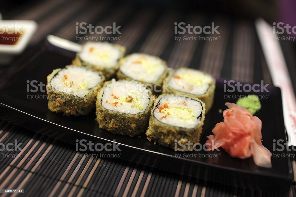 Set of hot rolls royalty-free stock photo