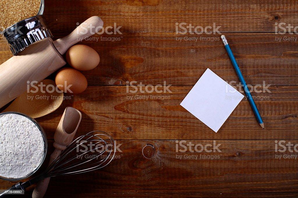 Set of ingredients stock photo