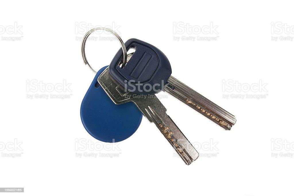 set of keys royalty-free stock photo