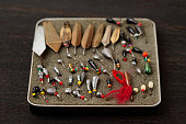 Set of lures for ice fishing