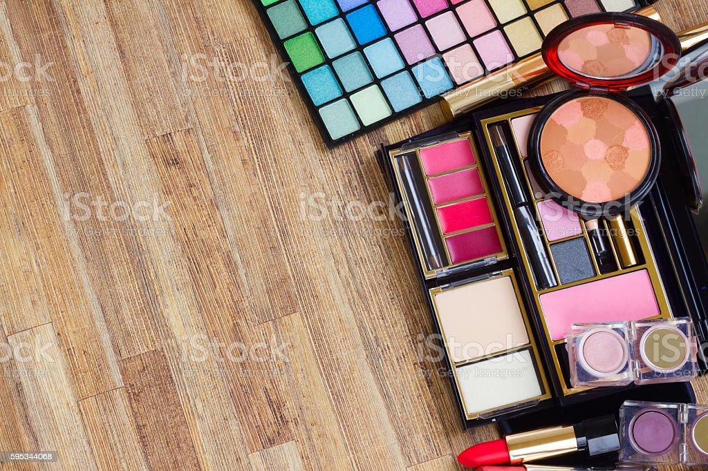 set of make up stock photo