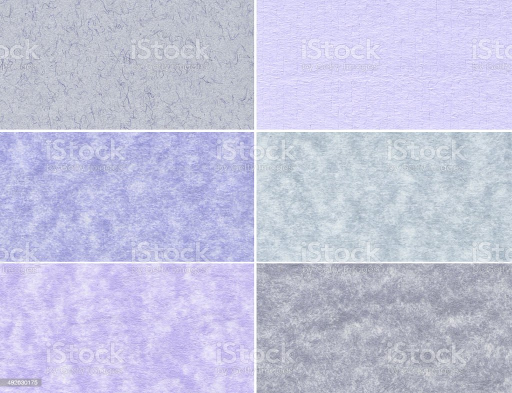 Set of marble textures royalty-free stock photo