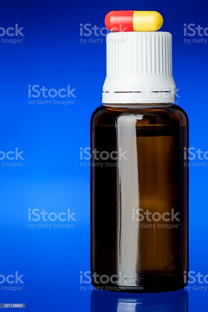 Set of medicines for health. stock photo