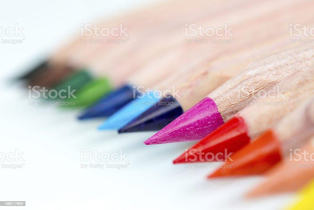 Set of pens. stock photo