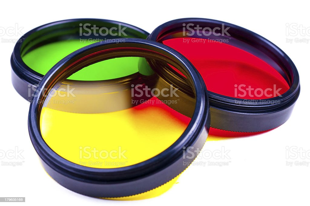 Set of photofilters royalty-free stock photo