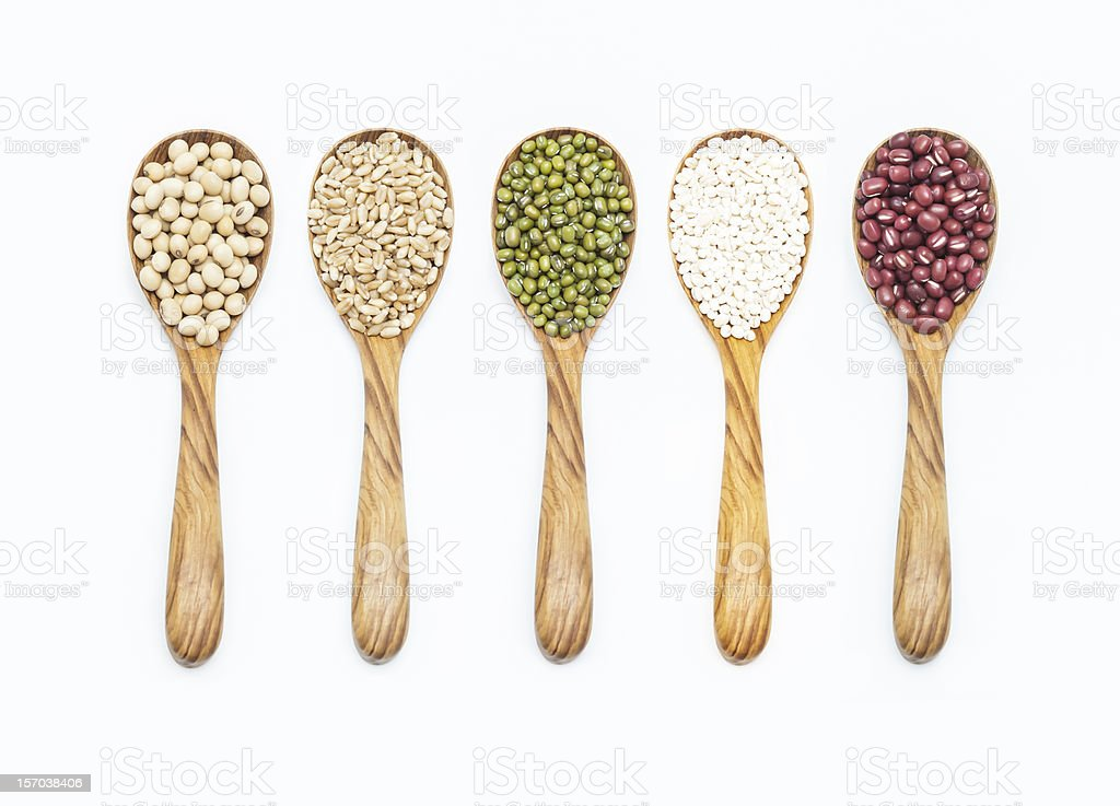 Set of seed stock photo