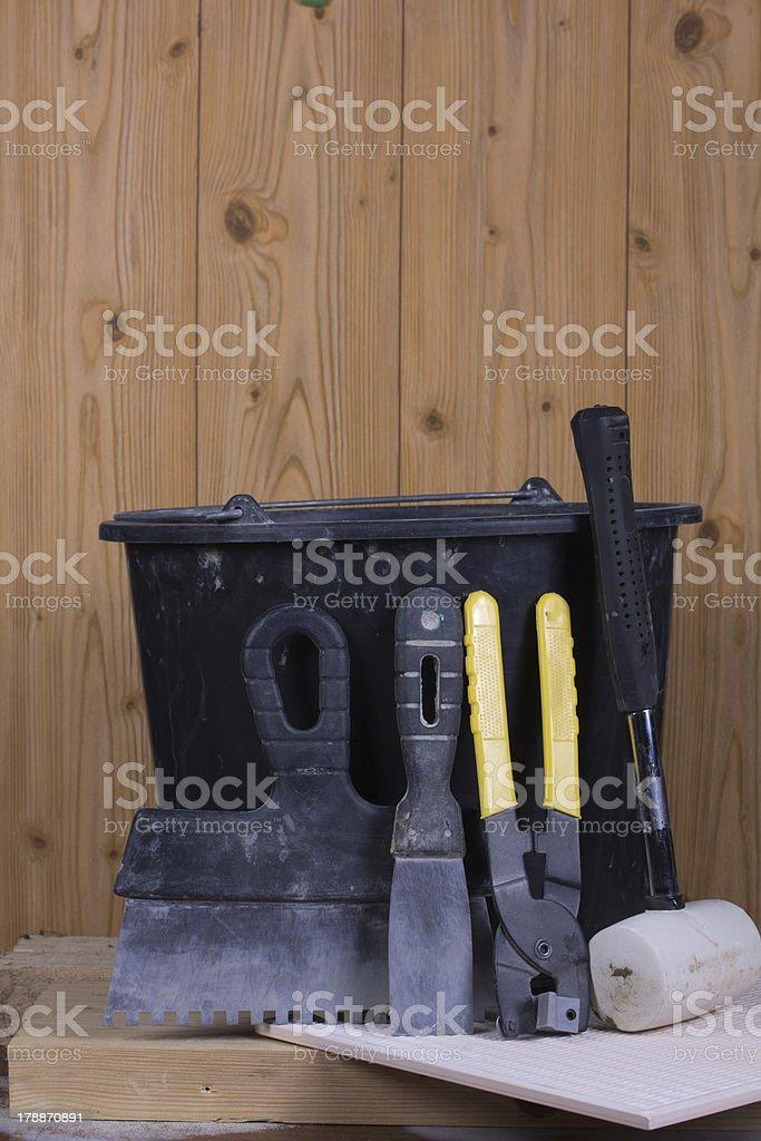 set of tools royalty-free stock photo