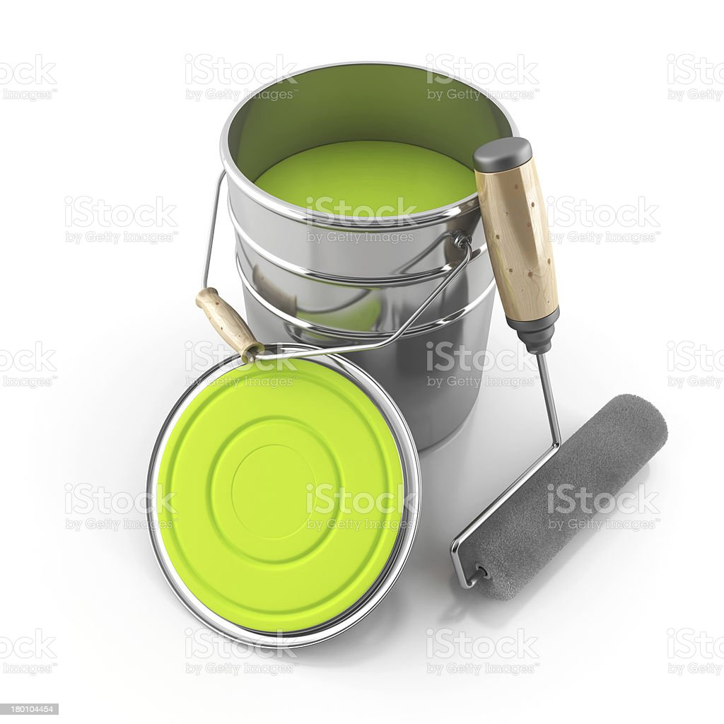 set painter royalty-free stock photo