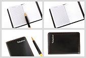 Set photos of notebook