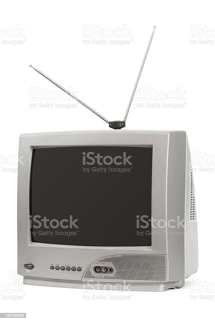 TV set stock photo