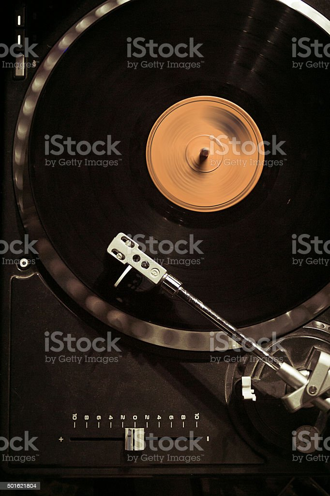 DJ set stock photo