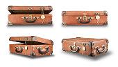 Set suitcases.