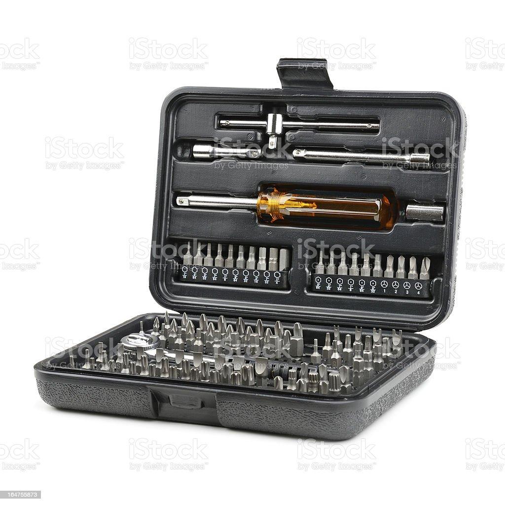 set tools royalty-free stock photo