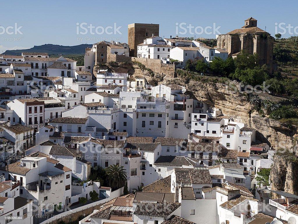 Setenil de las Bodegas, Spain royalty-free stock photo