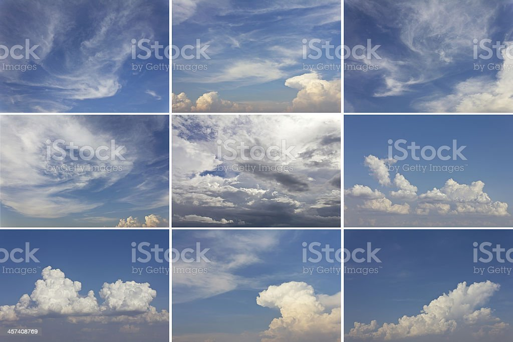 Seth cloudy sky royalty-free stock photo