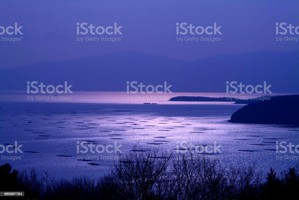 Seto Inland Sea stock photo