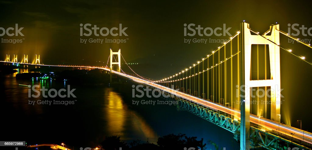 Seto Ohashi bridge stock photo