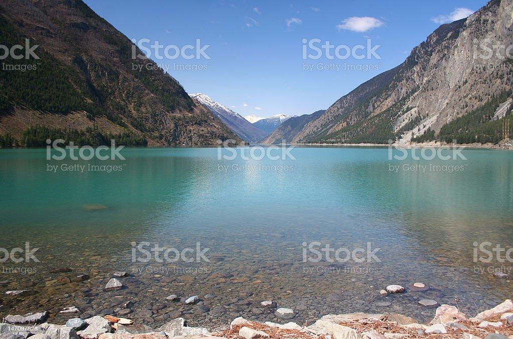 seton lake british columbia stock photo