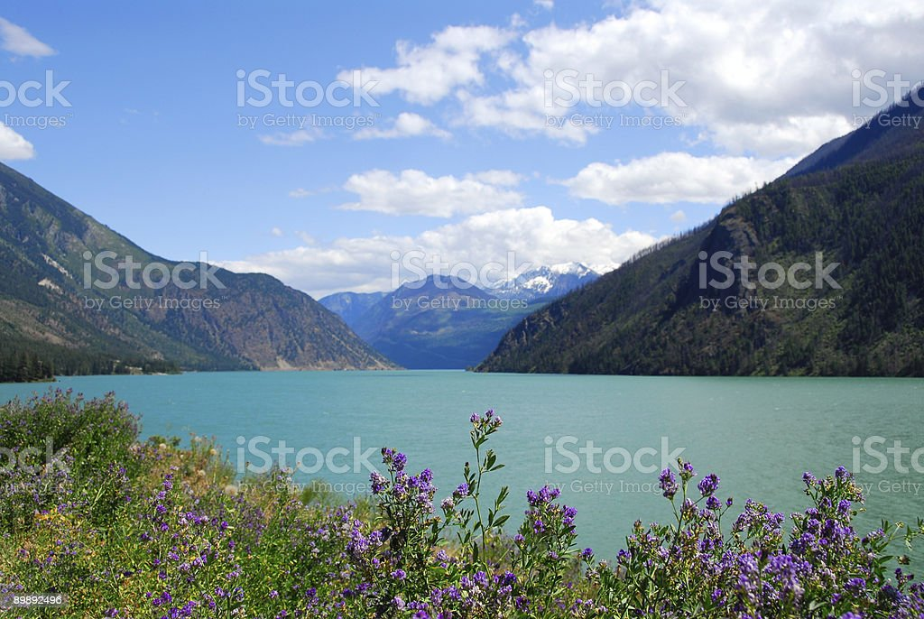 Seton Lake stock photo